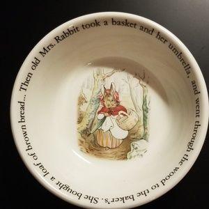 Wedgwood Beatrix Potter Peter Rabbit Bowl